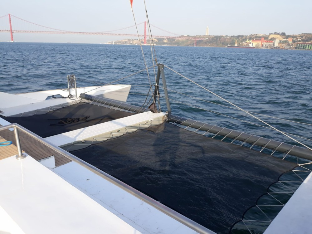 Hire Catamaran with or without skipper Nigel Irens Lisbon