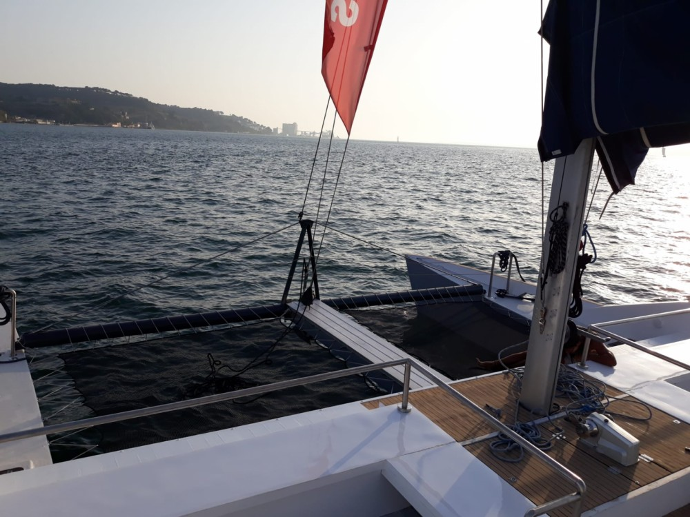Rental Catamaran Nigel Irens with a permit