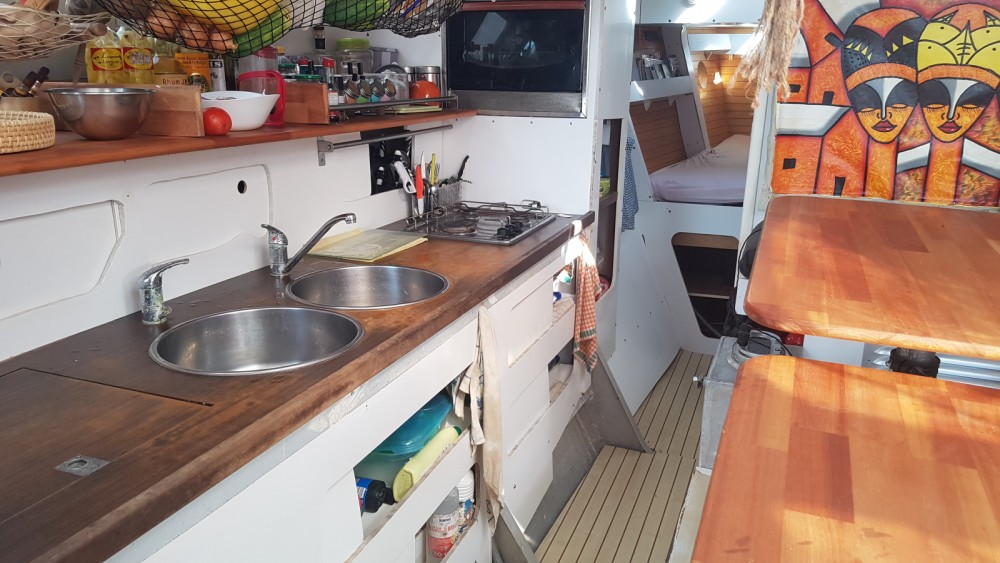 Hire Catamaran with or without skipper TRIBELLULE Sainte-Anne
