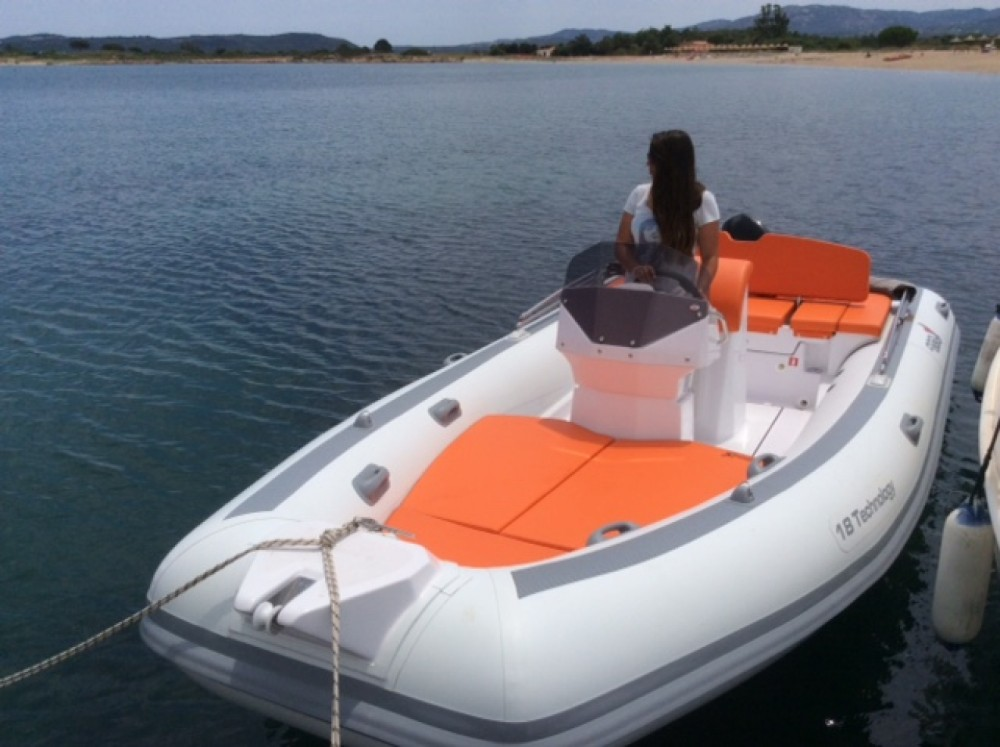 MV Marine 18 technology between personal and professional Sardinia