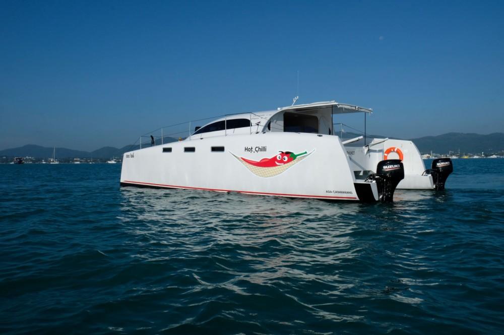 Rental Motorboat in Mueang Phuket - Stealth 38  Power Cat