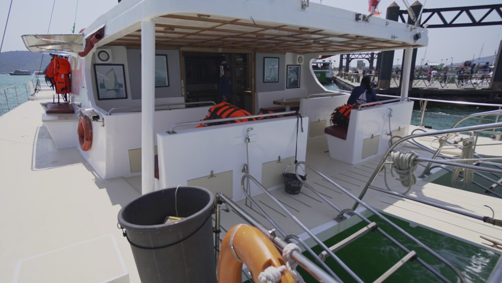 Hire Catamaran with or without skipper Golden  Dragon Mueang Phuket