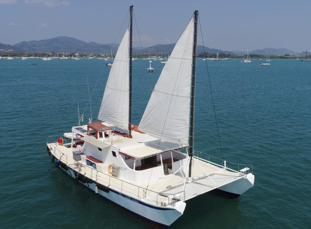Rental Catamaran Golden  Dragon with a permit