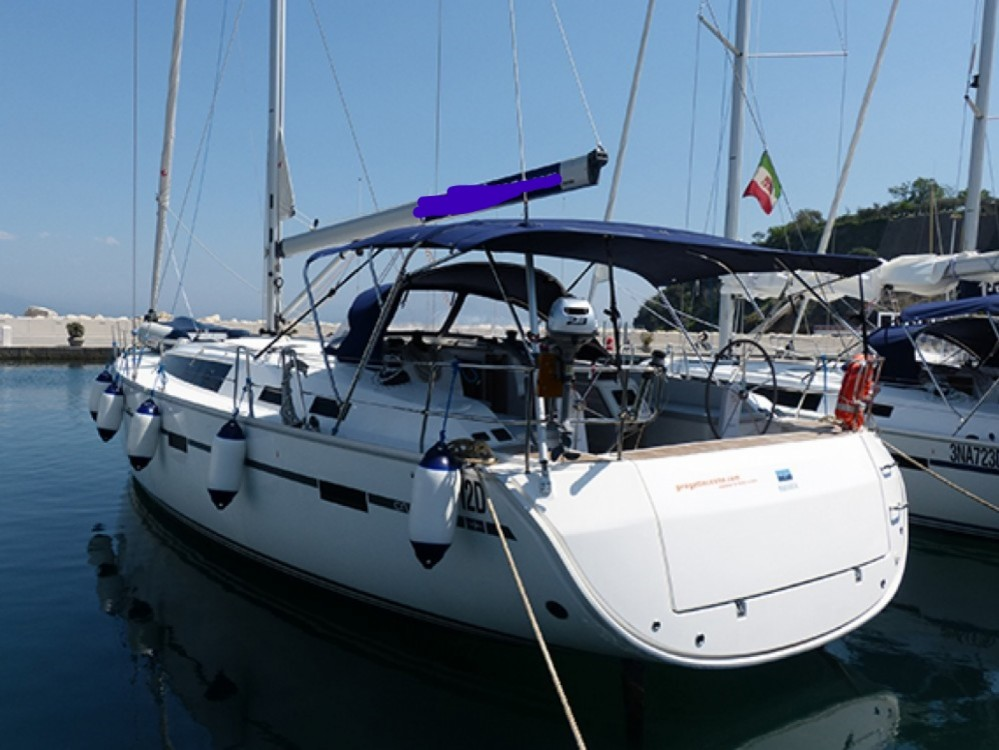 Bavaria Cruiser 51 between personal and professional Procida