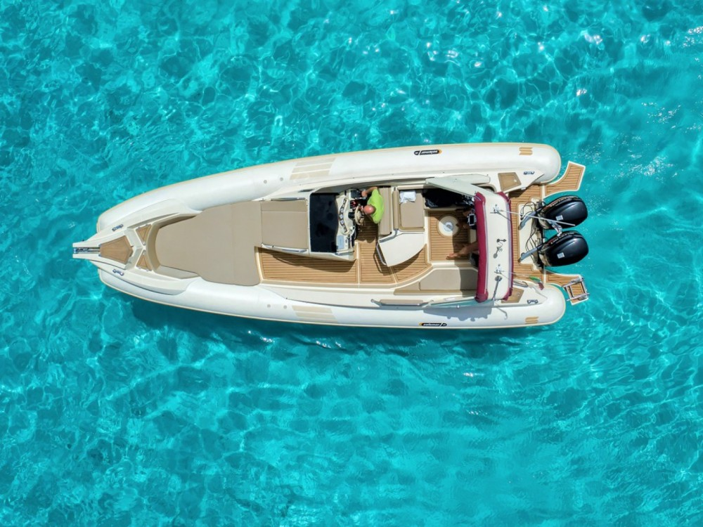 Hire RIB with or without skipper Solemar La Maddalena