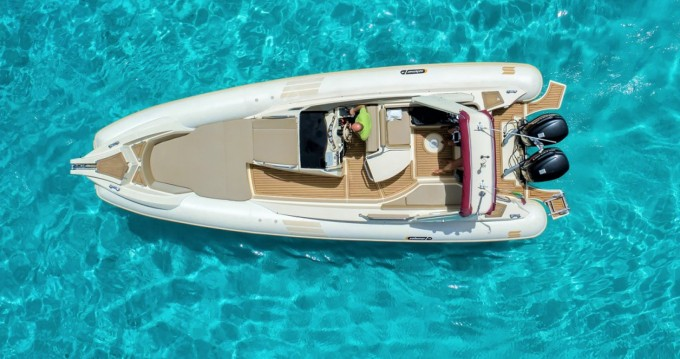 Hire RIB with or without skipper Solemar Palau