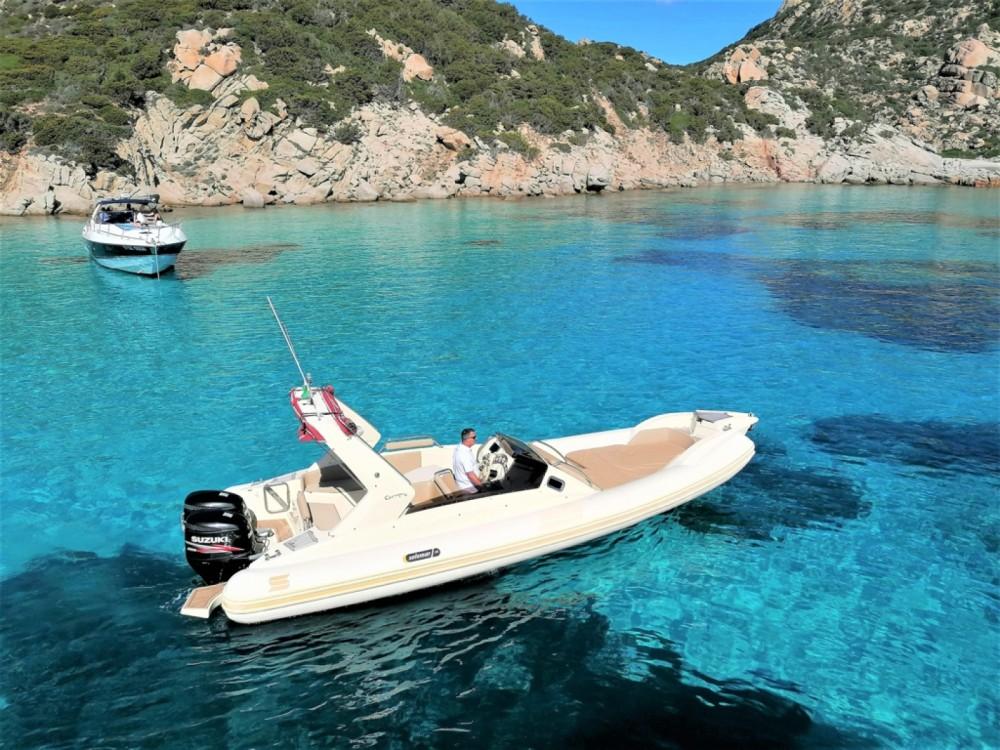 Boat rental Solemar Solemar New 28 in La Maddalena on Samboat