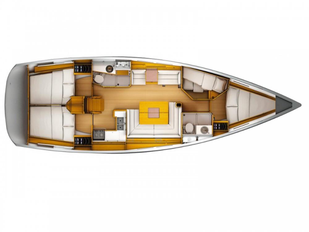Rental yacht Nieuwpoort - Jeanneau Sun Odyssey 449 on SamBoat
