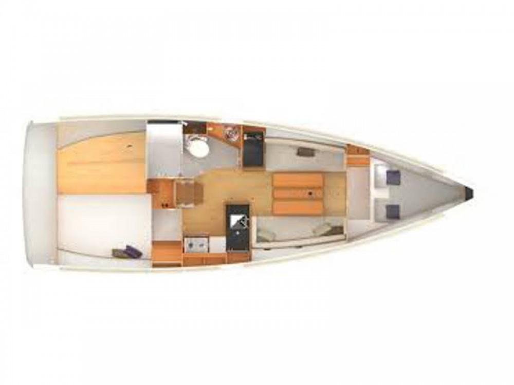Rental Sailboat in Nieuwpoort - Jeanneau Sun Odyssey 349