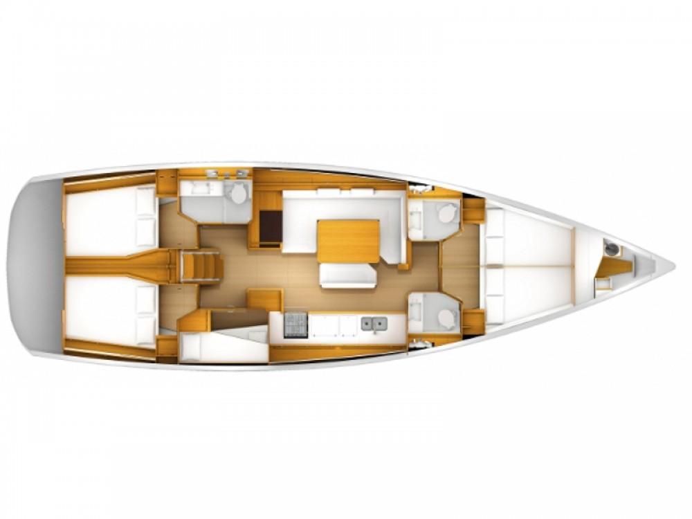 Rental yacht Nieuwpoort - Jeanneau Sun Odyssey 509 on SamBoat