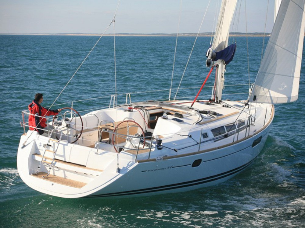 Jeanneau Sun Odyssey 44 i between personal and professional Nieuwpoort