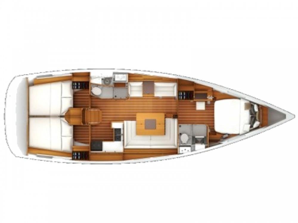 Boat rental Nieuwpoort cheap Sun Odyssey 439