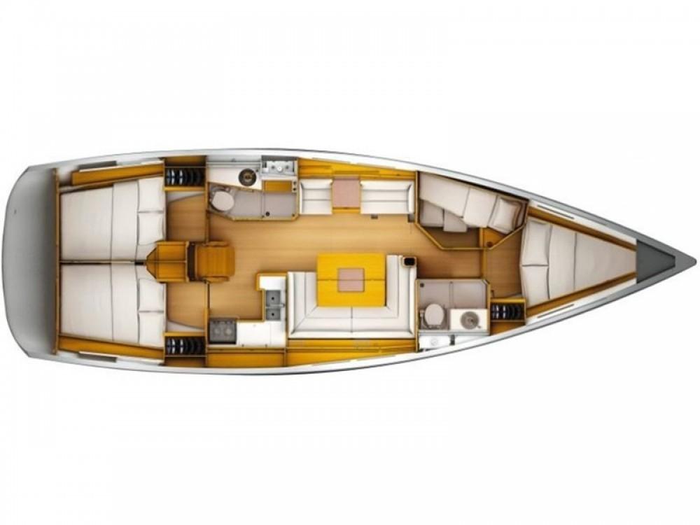 Boat rental Nieuport cheap Sun Odyssey 449