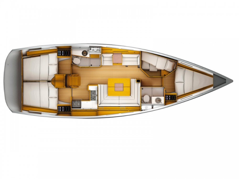 Jeanneau Sun Odyssey 449 between personal and professional Nieuport