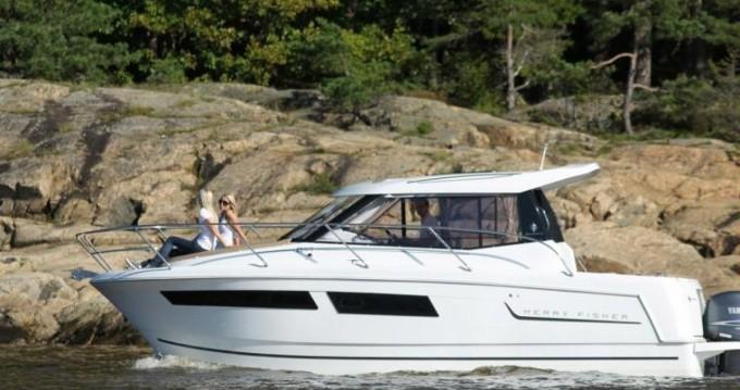 Rental yacht Nieuwpoort-Bad - Jeanneau Merry Fisher 855 on SamBoat