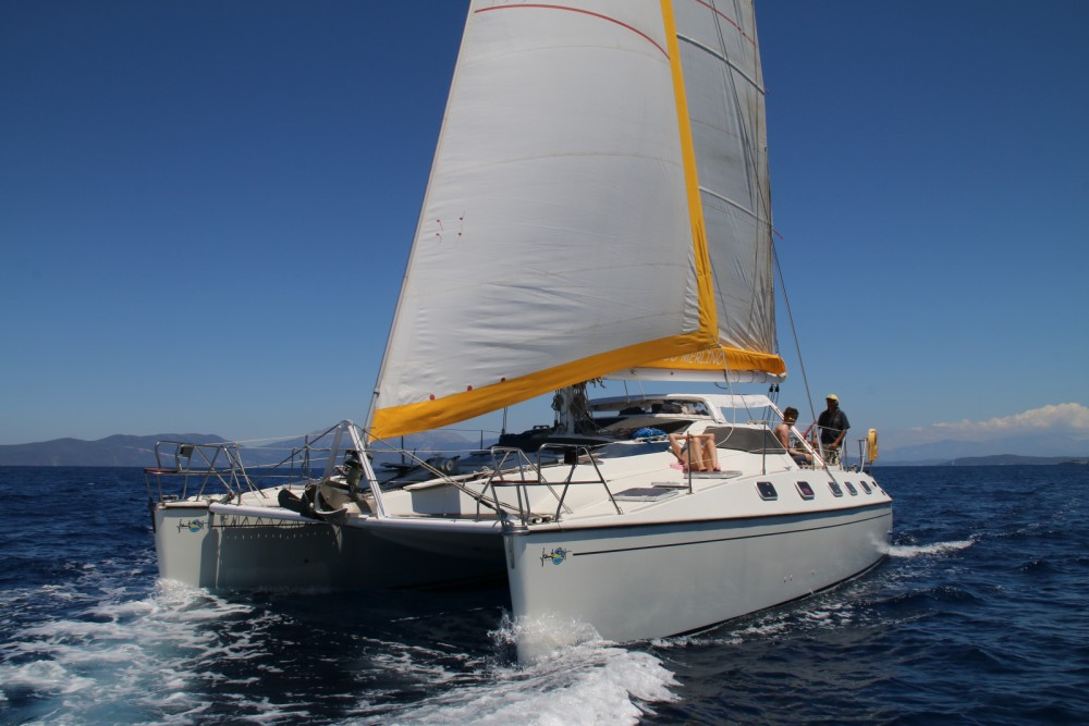 Rental Catamaran in Peloponnese, Western Greece and the Ionian - Jeantot-Marine Privilege 39