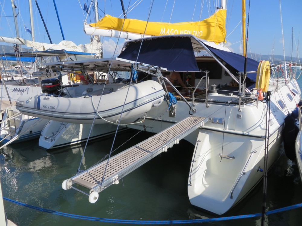 Hire Catamaran with or without skipper Jeantot-Marine Peloponnese, Western Greece and the Ionian