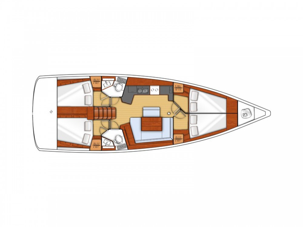 Hire Sailboat with or without skipper Bénéteau Herceg Novi