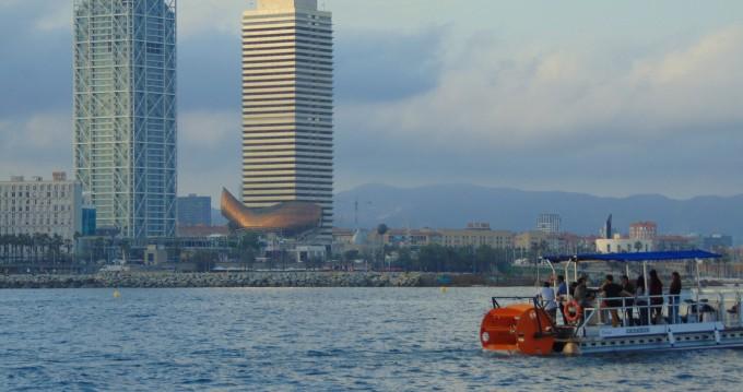 Rent a Eventium DYG Pedal Cruiser Barcelona