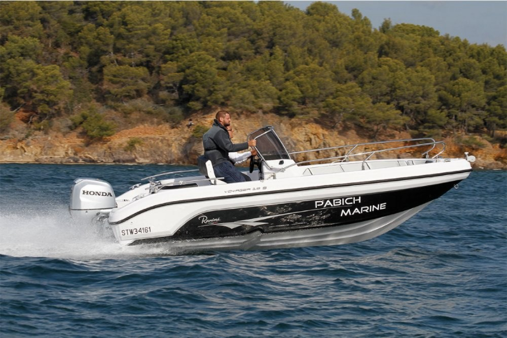 Ranieri Voyager 19 S between personal and professional Vrsi