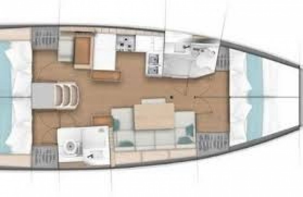 Jeanneau Sun Odyssey 440 between personal and professional Arzon