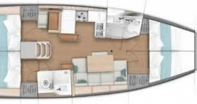 Jeanneau Sun Odyssey 440 between personal and professional Port du Crouesty