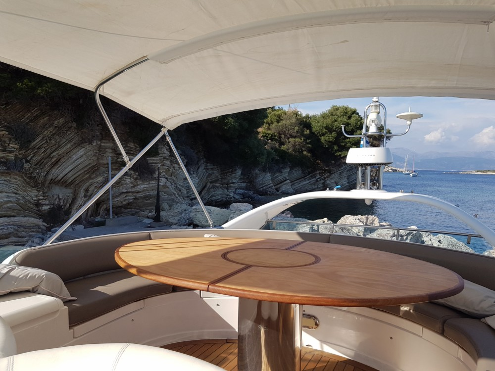 Rental Motorboat in Peloponnese, Western Greece and the Ionian - Fairline 55 Squadron