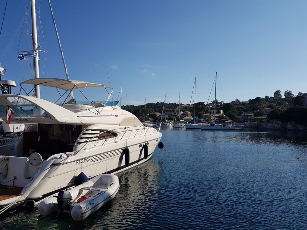 Fairline 55 Squadron between personal and professional Peloponnese, Western Greece and the Ionian