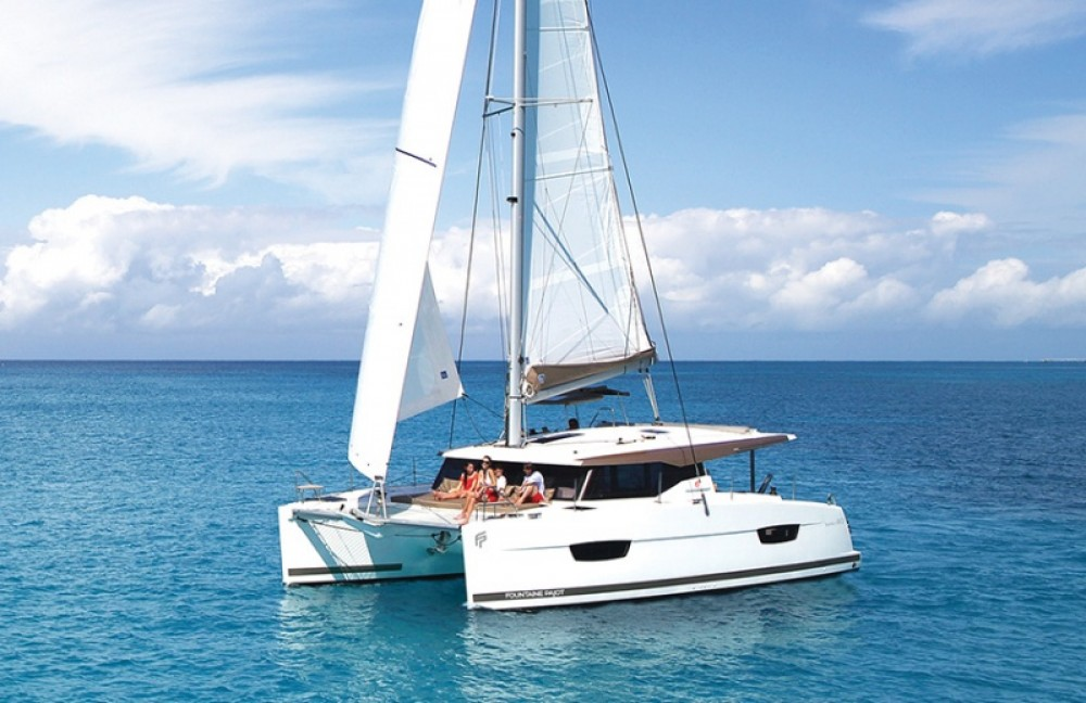 Fountaine Pajot Lucia 40 between personal and professional Arzon