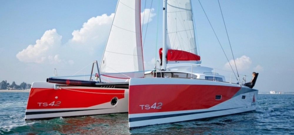 Catamaran for rent Arzon at the best price