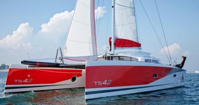 Rental yacht Arzon - Marsaudon Composites TS 42 on SamBoat