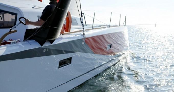 Rental Catamaran in Arzon - Marsaudon Composites TS 42