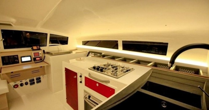 Hire Catamaran with or without skipper Marsaudon Composites Arzon