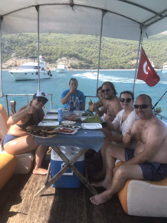 Rental Motor boat in Antalya - Local Productor no model