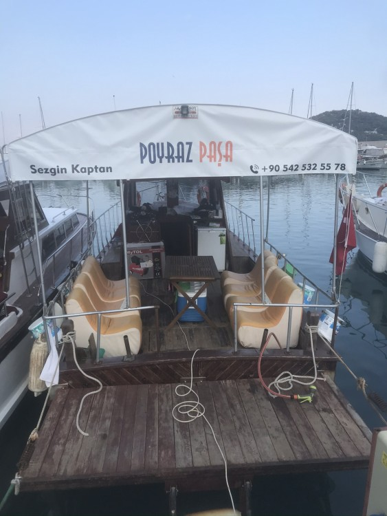 Motor boat for rent Antalya at the best price