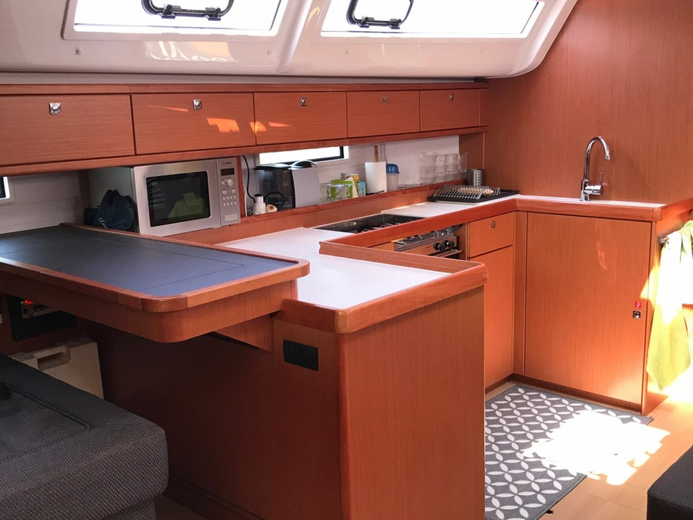 Bavaria Cruiser 51 between personal and professional Bastia