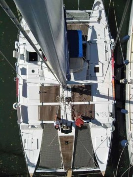 Wharram Pahi 42 between personal and professional Guadeloupe