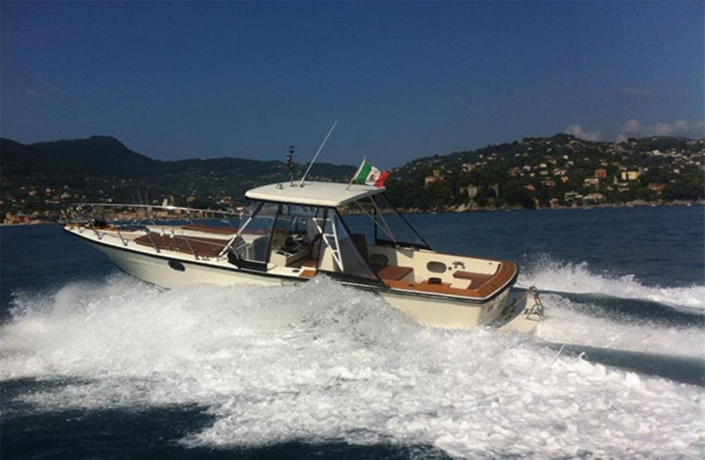 Rental Motor boat Abbate with a permit