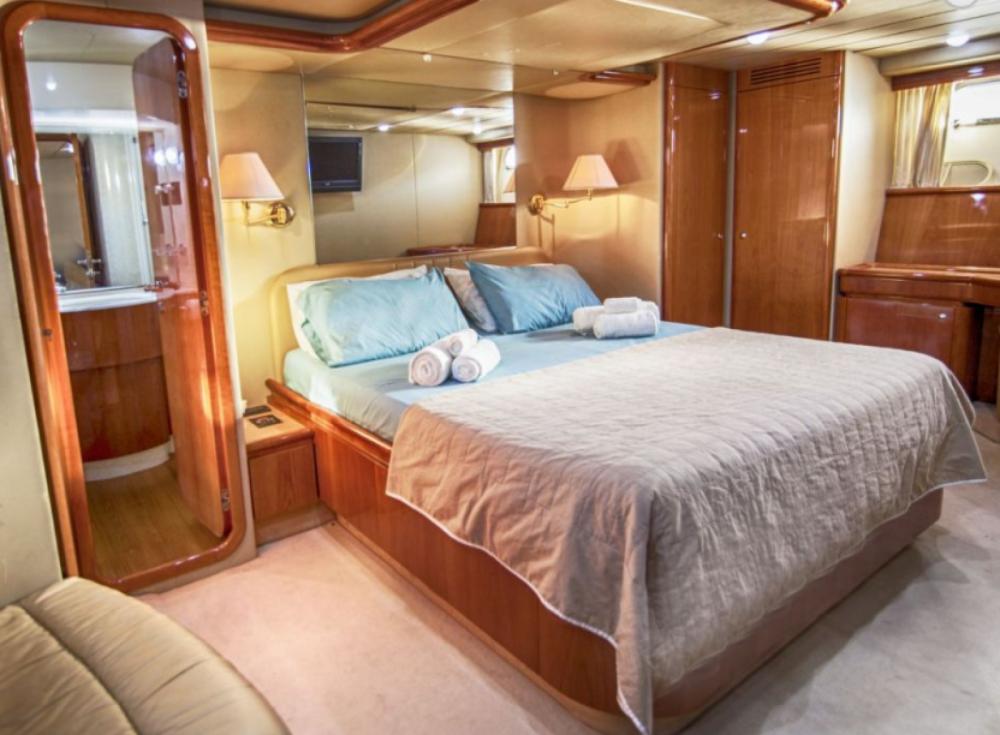Rental Yacht in Tourlos - Ferretti 68 flybridge