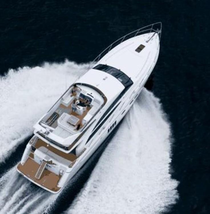 Boat rental Tourlos cheap 62 flybridge