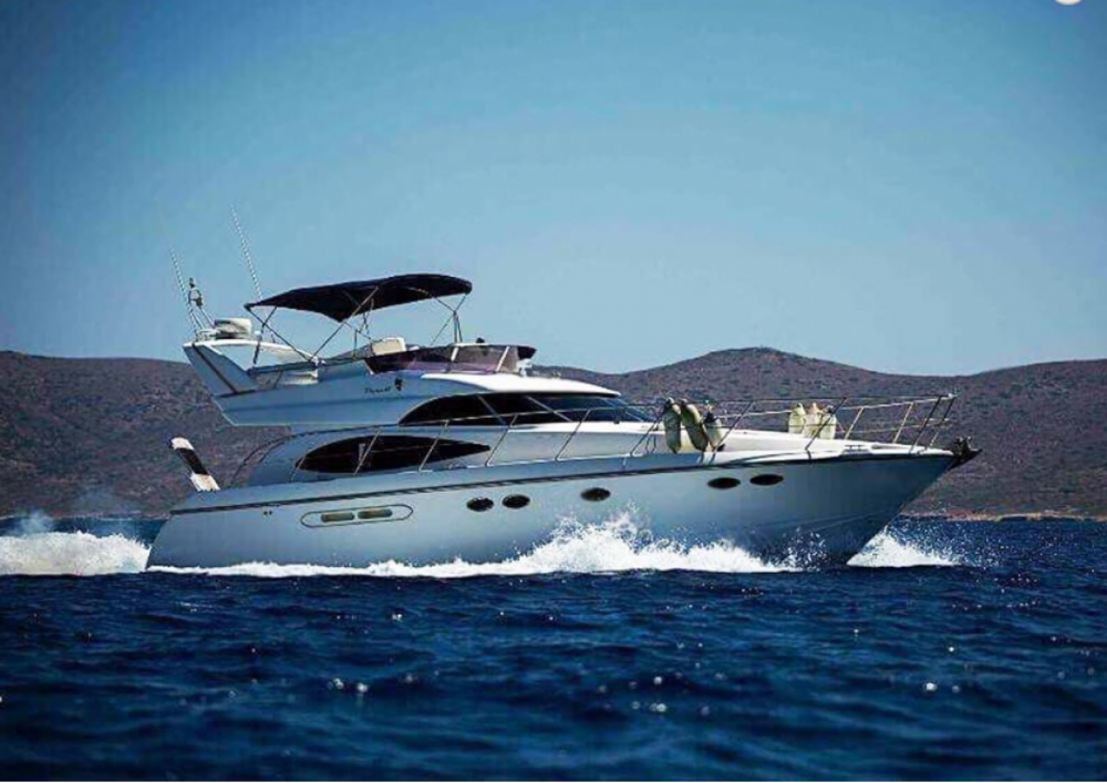 Rental yacht Tourlos - Dyna  48 feet Flybridge on SamBoat