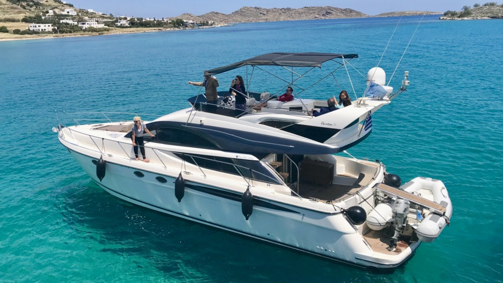 Rental yacht Tourlos - Fairline Fairline 50 Fly on SamBoat