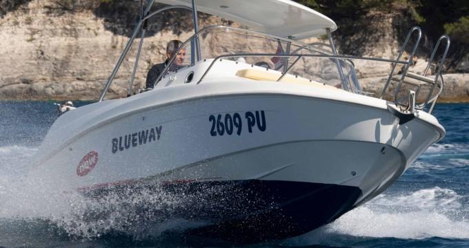 Rental Motorboat in Pula - Blueway Blueway 20 SD-C