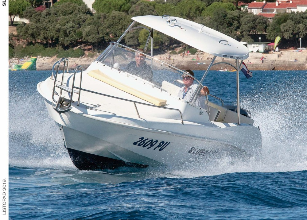 Rental Motorboat in Grad Pula - Blueway Blueway 20 SD-C