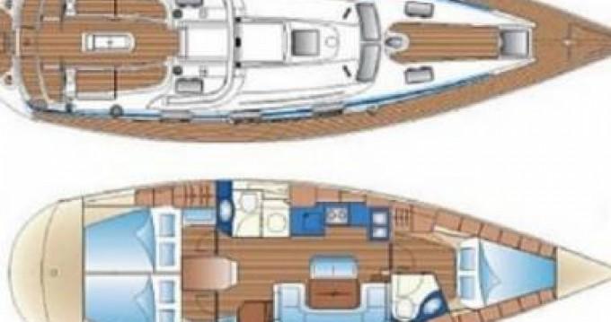 Rental Sailboat in Tourlos - Bavaria 42 feet