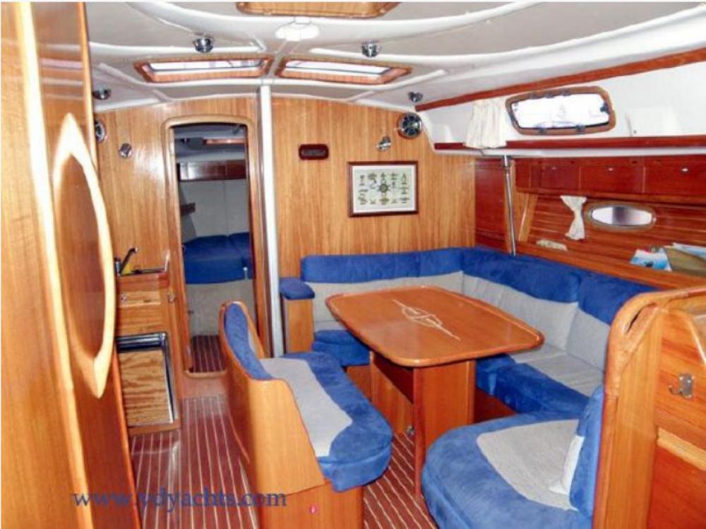 Boat rental Tourlos cheap 42 feet