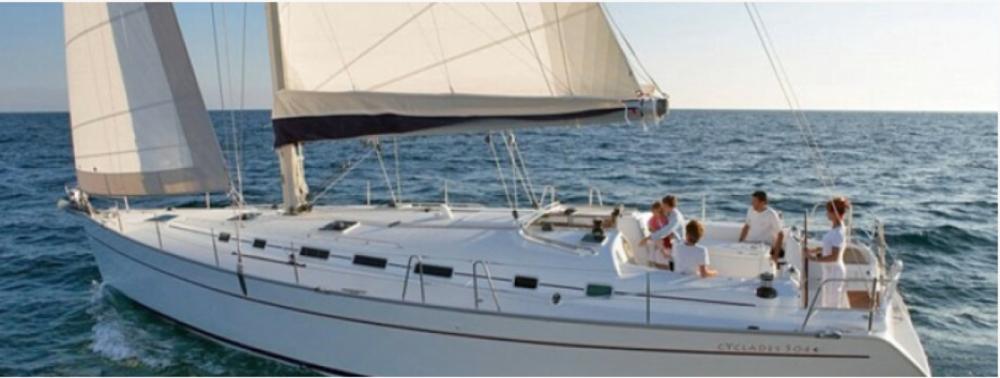 Boat rental Tourlos cheap Cyclades 50.5