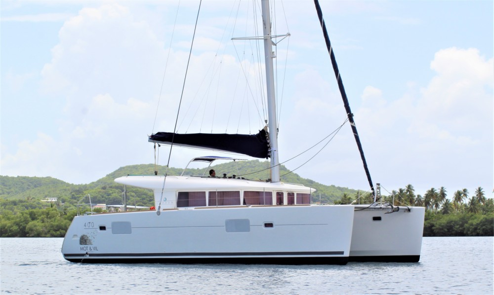 Catamaran for rent Saint Lucia at the best price