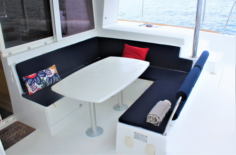 Boat rental Martinique cheap Lagoon 400