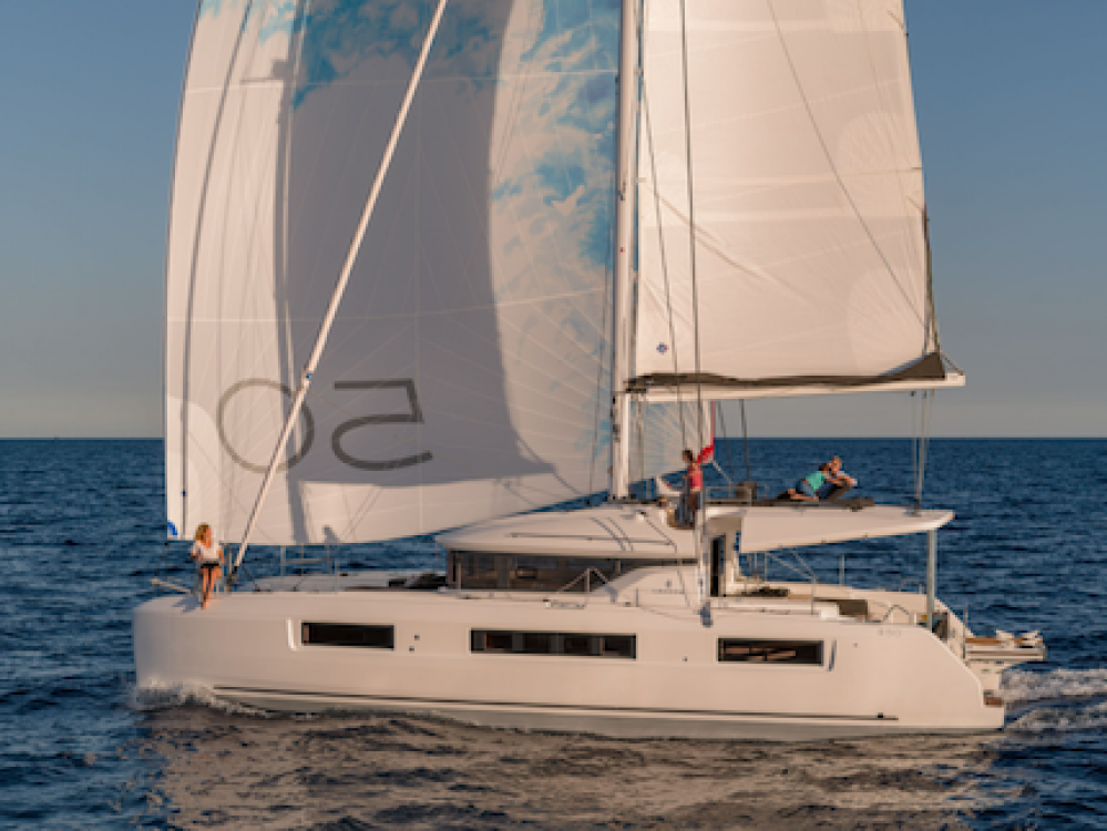 Rental Catamaran in Olbia - Lagoon Lagoon 50